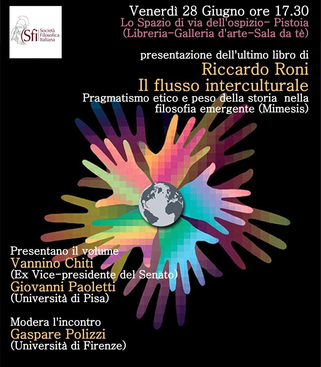 Presentazione del libro: Riccardo Roni, Il flusso interculturale