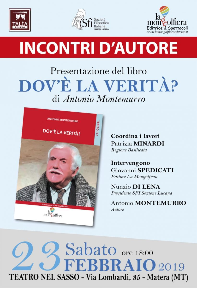 Sezione Lucana di Matera - DOV'È LA VERITÀ?