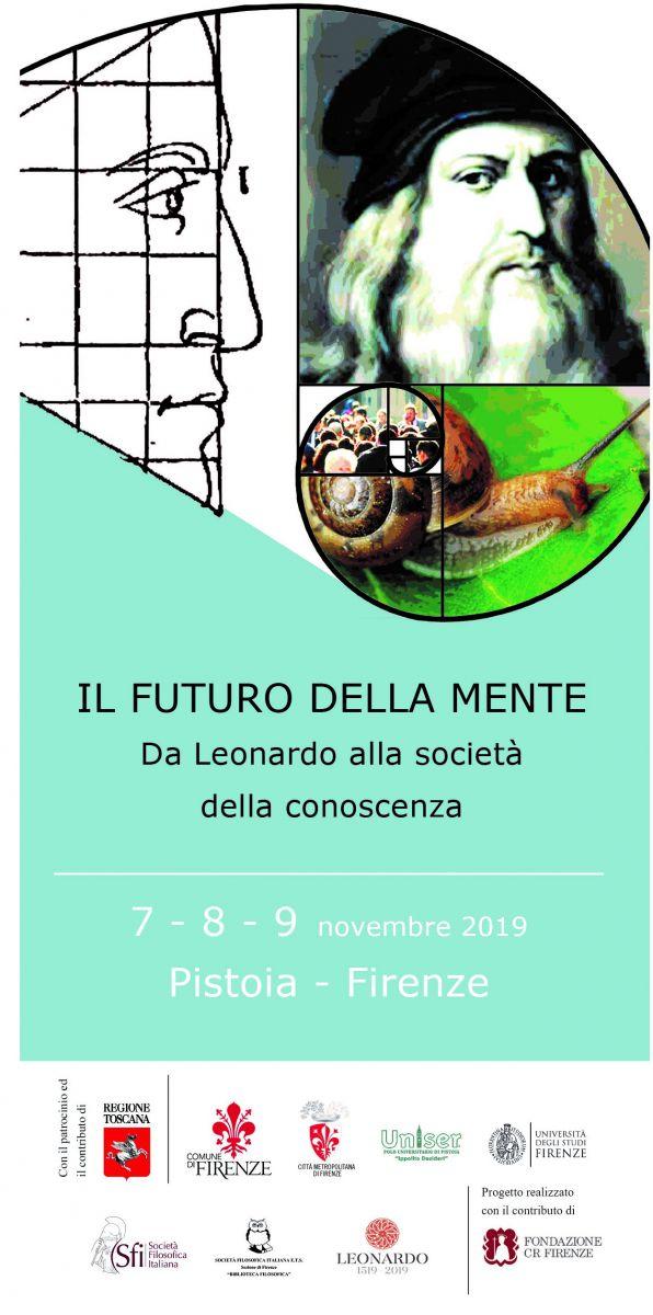 CONGRESSO NAZIONALE SFI 2019 - IL FUTURO DELLA MENTE: Da Leonardo alla società della conoscenza