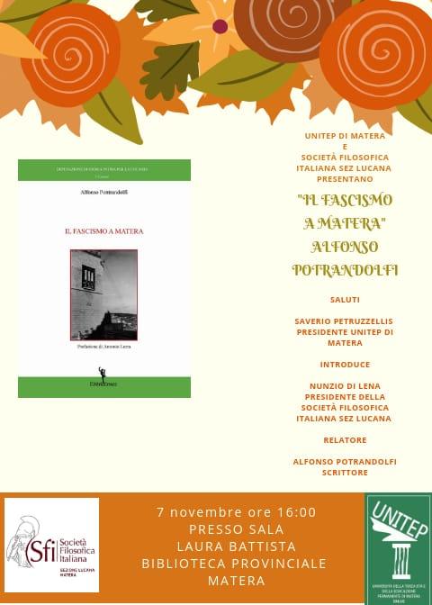 Sezione Lucana di Matera - IL FASCISMO A MATERA
