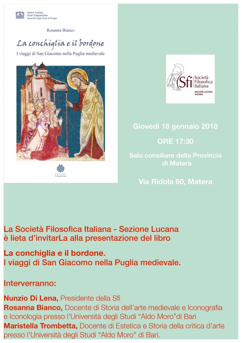 Sezione Lucana Matera: LA CONCHIGLIA E IL BORDONE