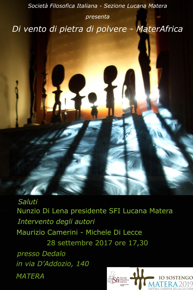 Sezione Lucana Matera: Di vento di pietra di polvere. MaterAfrica