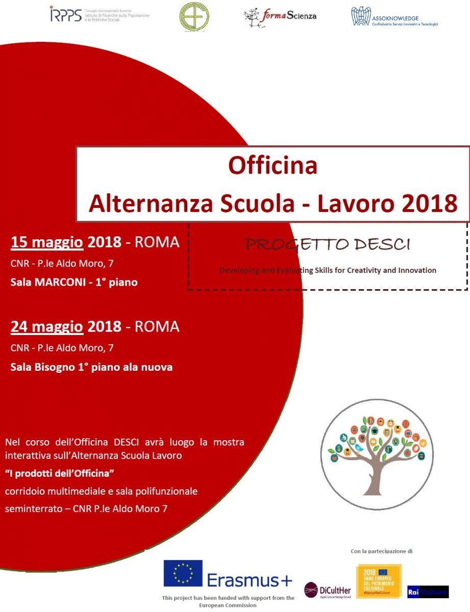 Officina Alternanza Scuola - Lavoro 2018