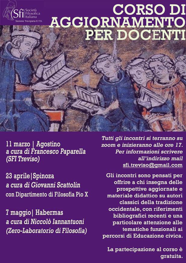 Sezione Trevigiana - Corso di aggiornamento per docenti