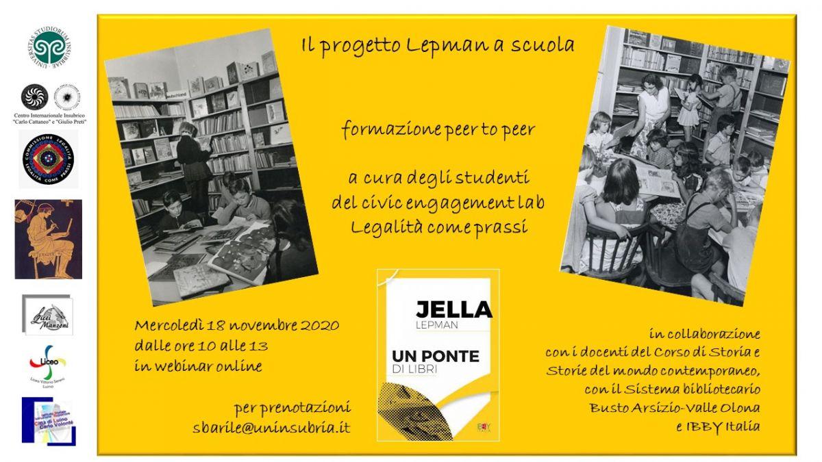 Sezione di Varese - Il progetto Lepman a scuola
