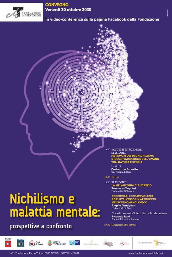 Convegno: Nichilismo e malattia mentale. Prospettive a confronto