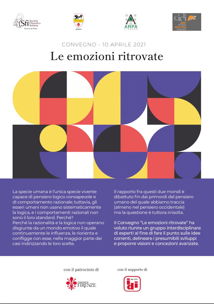 Sezione di Prato - Convegno: Le emozioni ritrovate