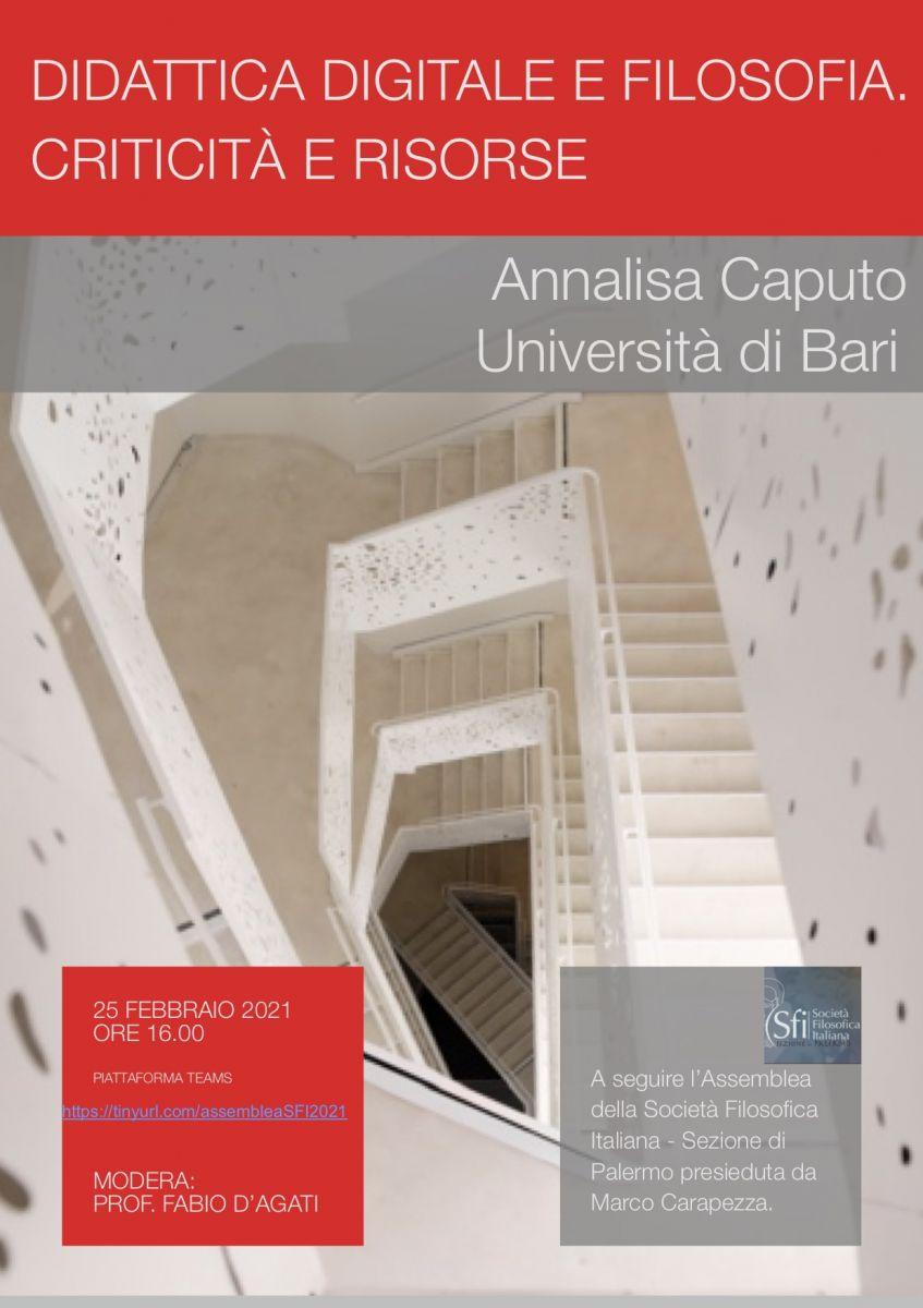 Annalisa Caputo (Università di Bari),
