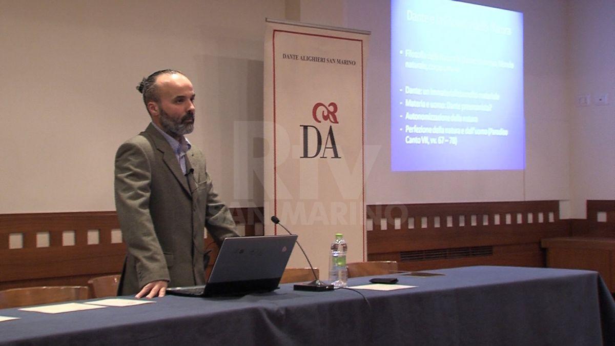 """""""Dante e la filosofia della natura"""" - lezione del socio Stefano Palagiano"""